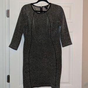 H&M Leather trim Dress